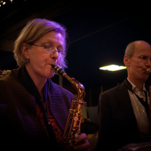 Saxofoons Cotton Club Big Band